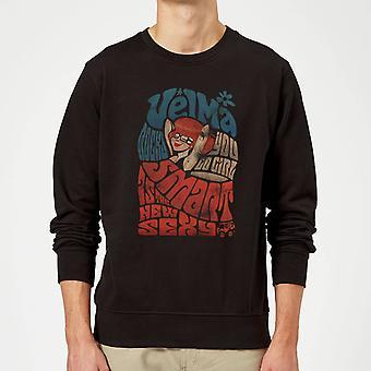 Scooby Doo Smart Is The New Sexy Long Sleeve Sweatshirt Jumper Top - Black