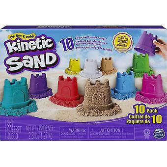 HanFei 6052995 Burgenfrmchen mit Sand 10er Set