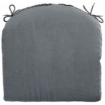 seat cushion Rib 46 x 48 cm dralon grey