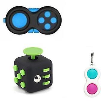 PRO sæt - 3 pack Fidget Toys Set for børn og voksne NYHEDER