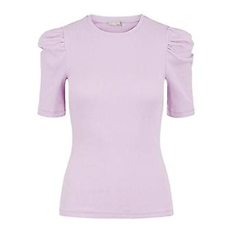 PIECES PCANNA SS Top Noos BC T-Shirt, Pastel Lavender, S Woman