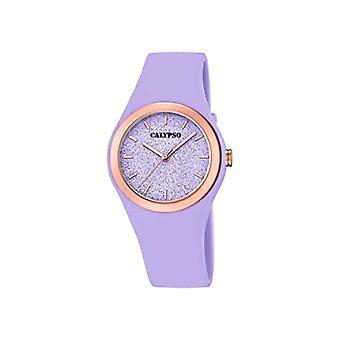 Calypso Watches Analog Watch Quartz Woman with Plastic Strap K5755/2