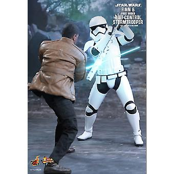 Finn and First Order Riot Control Stormtrooper Figure from Star Wars The Force Awakens
