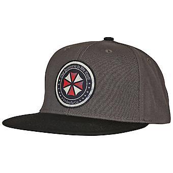 Resident Evil Symbol Patch Adjustable Snapback Hat