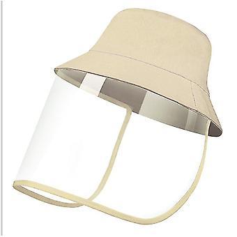 28Cm * 25 سم * 1 سم كاكي قبعة الشمس في الهواء الطلق للرجال والنساء x5094