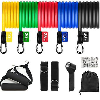 Portable Fitness Equipment Adjustable Weight Training Elastic Band Home Gym
