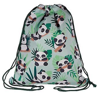 Kätevä kiristysnyöri laukku - Fun Panda Design
