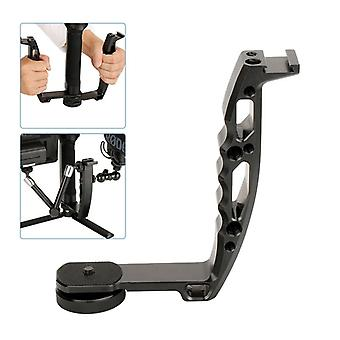 L Type Bracket Microphone Stand Handle Grip Video Monitor Mount For Dji Ronin