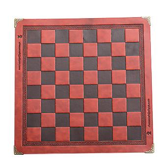 8 Colors Leather Chess Board