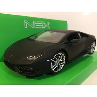 Lamborghini Huracan LP 610-4 Matt Black 1:24-1:27 Scale Welly 24056K