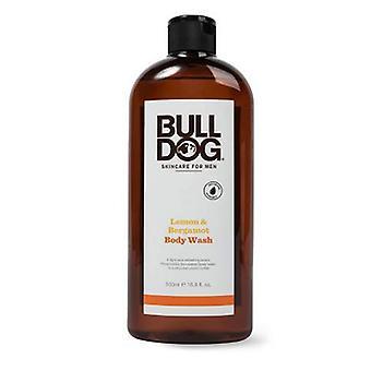 Bulldog Natural Skincare Lemon & Bergamot Body Wash, 16.9 Oz