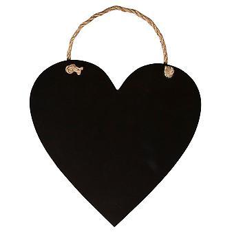Sass & Belle Lille Hængende Heart Kridt Board