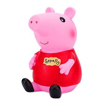 ורוד חזיר חזירי בנק טיפה עמיד כסף תיבת קיבולת גדולה