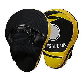 Boogvormige ademende boxer doel (geel)