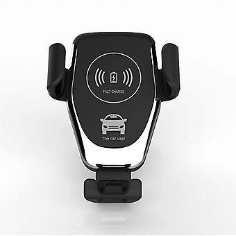 エアアウトレット車のワイヤレス充電ブラケット吸引カップ重力ワイヤレス充電牛ヘッドカーワイヤレス充電器