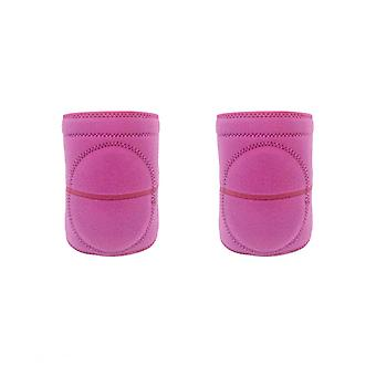2pcs Sponge Sports Knee Pads Fitness Tennis Training Knee Support Sport Gym Knee Pad Safety Knee Support For Children (size S)
