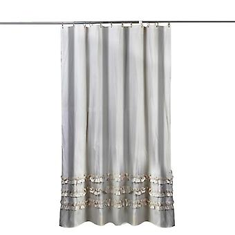 Mile Rice Lace Shower Curtain