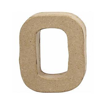 VIIMEISET MUUTAMAT - 10cm Pieni Paperi Mache Numero 0 | Paperi mache muodot | Papier Mache