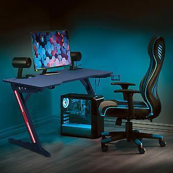 Gaming Desk Z-förmiger Home Office Computertisch
