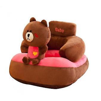Brown Bear Cartoon Mała Sofa