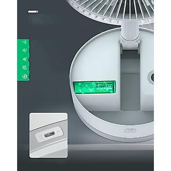 BlitzWolf - Foldable Wireless Fan - Foldable Electric Fan - Air Purification Cooling Fan Smart Remote Control 8-