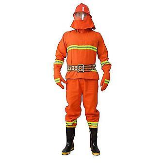 Radiație termică respirabilă Pompier Costum de îmbrăcăminte de siguranță rezistentă la căldură