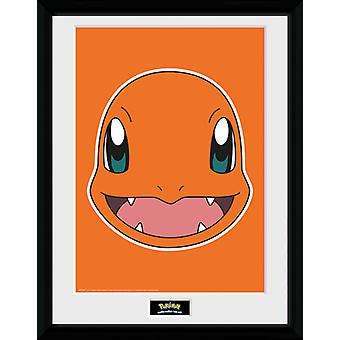 Pokemon Charmander gezicht Collector Print