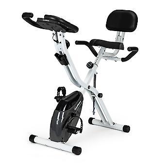 Kuntopyörä - Magneettinen vastus - Taitettava - Harmaa