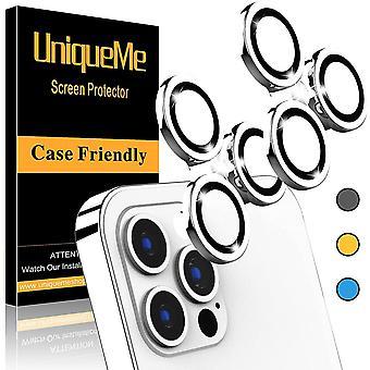 [2 Csomag] UniqueMe kompatibilis az iPhone 12 Pro Max 6,7 hüvelykes kameralencse-védő kameraborítóval