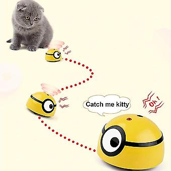 Interactive Cat Toy Intelligent Escaping Rampage Moving Wicked Ball Dogs Automatic Funny Pet