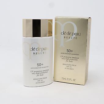 Cle de Peau Beaute Uv skyddande emulsion för kropp Spf 50 + 2.5oz ny med låda