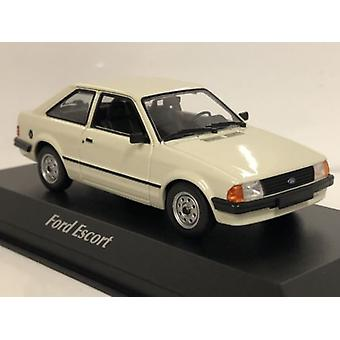 Maxichamps 940085001 1981 Ford Escort Grey 1:43 Scale