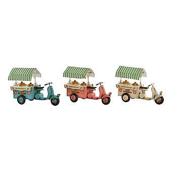 Vehicle DKD Home Decor Ice Cream Ornamental Metal (3 pcs) (36.5 x 16.5 x 26 cm)