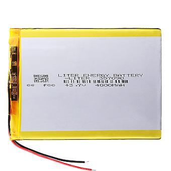 3.7v 4000mah Lithium Polymer Battery With Protection Board