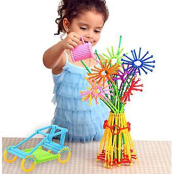 子供の教育玩具、賢い棒、ビルディングブロック、DIYのおもちゃ