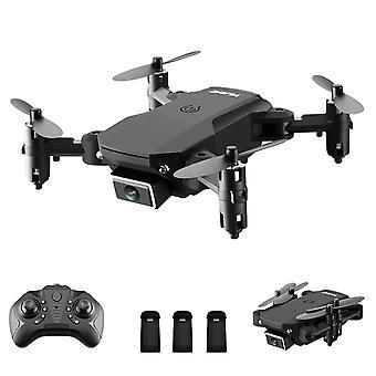Triple batterie S66 Rc Drone avec caméra 4k