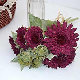 Melaleuca الحرير زهرة متعددة الألوان محاكاة تيدي عباد الشمس