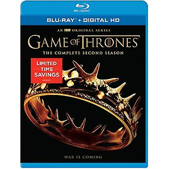 Game of Thrones: The Complete Second Season [Blu-ray] USA import