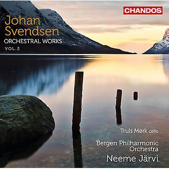 Johan Svendsen Severin - Johan Svendsen: Œuvres orchestrales, importation USA Vol. 2 [CD]