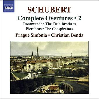 F. Schubert - Schubert: Komplette Ouvertüren, Vol. 2 [CD] USA import