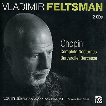 F. Chopin - Chopin: Komplett Nocturnes; Barcarolle; Berceuse [CD] USA import