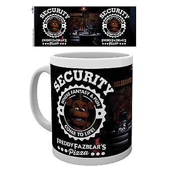 Five Nights At Freddy's Security Mug