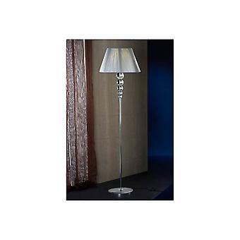 Schuller Mercury Floor Lamp, 1L, Cle