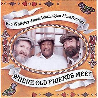 Scarlett/Washington/Whiteley - Where Old Friends Meet [CD] USA import