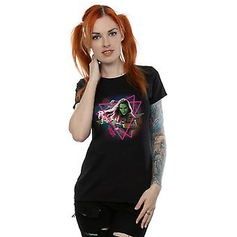 Marvel Women's Guardians Of The Galaxy Neon Gamora T-Shirt