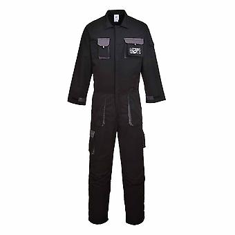 Portwest - Texo Stylish Versatile Workwear Cotton Rich Contrast Panel Coverall