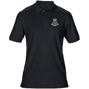 Die königliche Yeomanry Stickerei Logo - offiziellen britischen Armee Herren Poloshirt