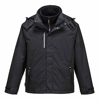 Portwest - radiale 3 en 1 veste imperméable de vêtements de travail