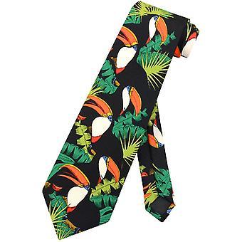 Toucan vogels stropdas toekans in bomen ontwerpen Mens nek Tie