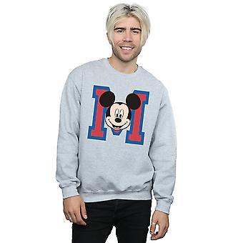 Disney miesten Mikki Hiiri M Face College pusero